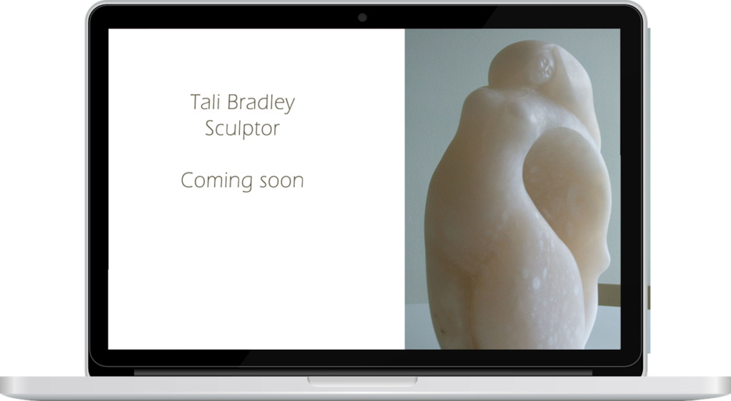 Tali Bradley Sculpture by lightpresence web design - Tamara Arom-Hobbs