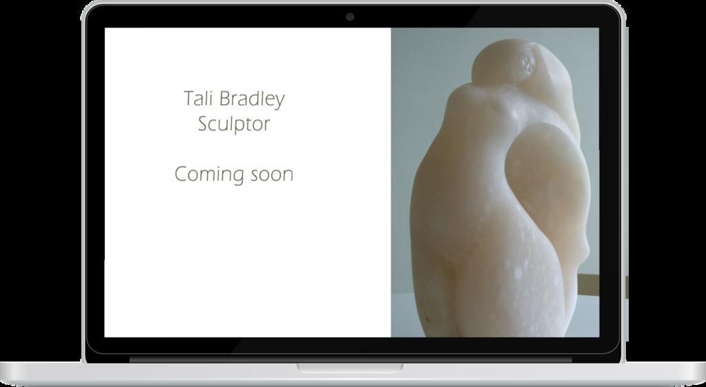 Tali Bradley Sculpture by lightpresence web design - Tamara Arom-Hobbs